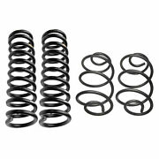 Lesjofors Front Hd And Rear Hd Coil Springs Kit For Chevelle 5.0 8v 1972 2d 4d