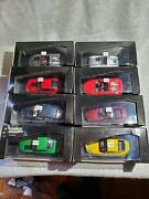 Lot Of 8 Porsche 143 Die Cast Model Cars, All Minichamps, All New In Box