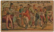 Uncle Sam Gives World Berry Bros. Hard Oil Finish Victorian Trade Card