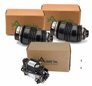 Arnott Rear Air Suspension Springs And Compressor Kit For Mercedes W211 S211 W219