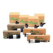 Arnott Front And Rear Air Susp Struts And Sensors Kit For Mb W220 S-class Airmatic