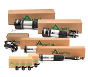 Arnott Front And Rear Air Struts And Compressor Sensors Kit For Mb W220 S500 4matic