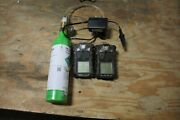 Msa Altair 4x Gas Detector Lot Of 2
