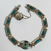 Archibald Knox For Murrle Bennett Arts And Crafts Silver And Enamel Bracelet C1900
