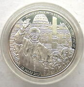 Togo 2013 Pope Francis I 500 Francs Silver Coin,proof