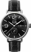Bell And Ross Vintage Ww1 Automatic Date Men's Watch Brww190-bl-st/scr