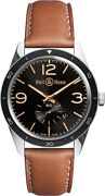 Bell And Ross Vintage Original Menand039s Watch Brv123-gh-st/sca
