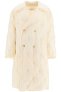 New Maison Margiela Long Puffer Jacket S50ah0093 S49203 Butter Authentic Nwt