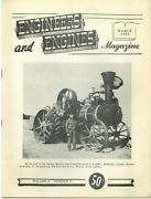1st Automotive Tractor Holmes Beloit, Wi, Bollee Steam Carriage, Rollag 1962