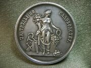 РБ11 Silver Medal For Labors In Gardening Riga Department. Silver