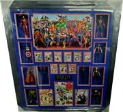 Stan Lee Signed Autographed Comic Book Framed With Action Figures Amazing Ga 76