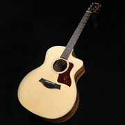 New Taylor 214ce Dlx Rosewood Natural Acoustic Guitar From Japan