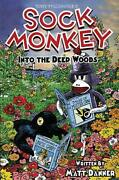 Sock Monkey Into The Deep Woods By Matt Danner English Hardcover Book Free Shi