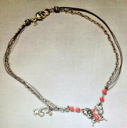 Jim Shore Butterfly Necklace New