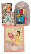 My Sweet Love 3-in-1 Baby Doll High Chair Bath And Potty And Doll Bundle Of 3
