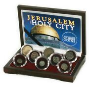 Jerusalem The Holy City A Collection Of 8 Coins