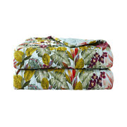 Utopia By Yves Delorme France, Organic Cotton Sateen Quilted Coverlet / Sham