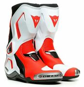 Dainese Torque 3 Out Womens Motorcycle Boots Black/white/red