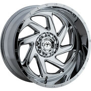 4-22x10 Chrome Wheel Motiv Offroad Morph 426c 8x170 -19