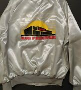 Rare Vintage Ames Department Store Bomber Style Jacket Advertising New Xlarge