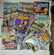 New Mutants 1-54 Ann 1-3 Spec Ed 1 And More Full Claremont Run First Legion