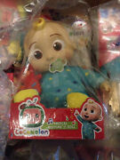 New✅ Cocomelon Musical Bedtime Jj Doll With Plush Tummy And Roto Head ⚡fast Ship