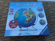 Ravensburger Metalic Puzzleball 540 Piece New And Factory Sealed