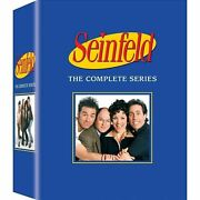 Seinfeld The Complete Series Dvd 33-disc Set Fast Shipping New And Sealed Us