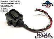 Waterproof Rocker Switch 3 Position Momentary On-off-momentary On - P12001-3-mom