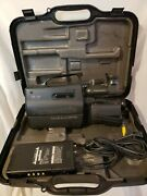 Panasonic Omni Movie Camera Hq Afx8 Dual System Case Battery Charger Vhs