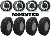 Kit 4 Tensor Dsr35 Tires 35x10-15 On Method 409 Bead Grip Matte Black 1kxp
