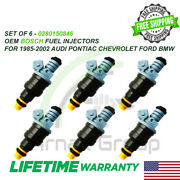 X6 Bosch Oem Fuel Injectors For 1985-2002 Audi Bmw Chevy Ford 2.8l P0280150846
