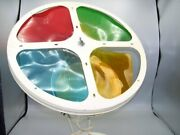 Vintage 12 Inch Color Wheel For Aluminum Christmas Tree…pre-owned