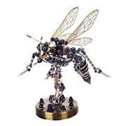 3d Stainless Steel Insects Bee Puzzle Model Kit Diy Mechanical Wasp Assembly