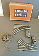One Pair Lionel No. 1121 Electric Remote Controll Switches For 027 Track W/box