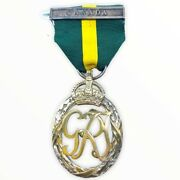 Canadian Efficiency Decoration Medal With Canada Bar Lt/col Gm Carrie Full Size