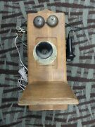 Stromberg Carlson Rochester Ny Chicago Il Vintage Coffin Phone Rotary Converted