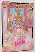 Mattel Rapunzel Barbie Doll Never Removed From Box 17646