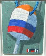 Tom Alway Old Buoy Feeling A Little Bit Wobbly Acrylic Mix Meadia Painting