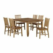 Sunset Trading Brook 7 Piece Extendable Table Dining Set