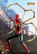 Hot Toys 1/6 Avengers Infinity War Mms482 Iron Spider-man Movie Action Figure