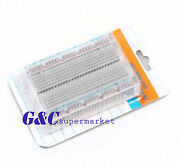 10pcs Mini Solderless Breadboard Transparent Material 400 Points Available
