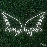 New Large Wings Logo 49x28 Led Flex Wall Signs Color Options And Remote Lf044