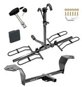Trailer Hitch For 14-20 Is250 Is350 Platform 2 Bike Rack W/ Hitch Lock + Cover