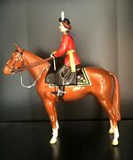 Beswick Queen Elizabeth Ii Mounted On Imperial. Trooping The Colour 1957 Perfect