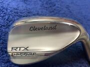 Cleveland Rtx Zipcore Sand Wedge 56 - 12 Full, Z-7138 Shop Worn, Make Offer