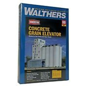 Walthers Cornerstone Series Kit Ho Scale Adm Grain Elevator And Accessories