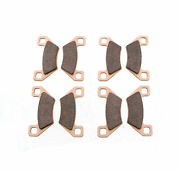 2012 Arctic Cat Prowler Hdx 700 Front And Rear Brake Pads Brakes Severe Duty