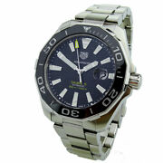 Tag Heuer Aquaracer Cal 5 Stainless Steel Automatic Wristwatch Way201a
