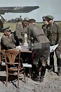 Ww2 Photo Colonel General Walter Model And Wehrmacht Officers At The Map O 1370